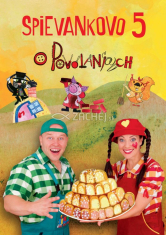 2 DVD - Spievankovo 5 - O povolaniach