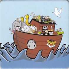 Podložka pod pohár - Noemova archa