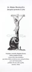 Záložka: Sv. Mária Magdaléna + litánie