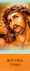 Záložka: Len Boh môže... - Laminovaná záložka s modlitbou