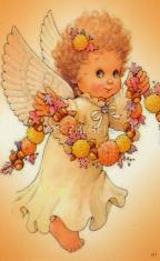 Obrázok: Anjelik (311/202) - Večerná modlitba pre deti, laminovaný
