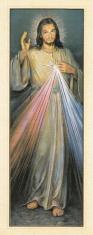 Božie milosrdenstvo (záložka BM012) - zlátená