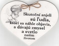 Drevené srdce: Skutoční anjeli sú ľudia...
