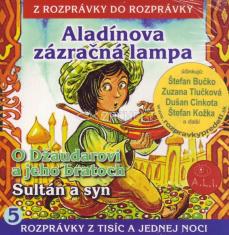 CD - Aladínova zázračná lampa, O Džaudarovi a jeho bratoch, Sultán a syn