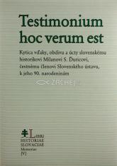 Testimonium hoc verum est