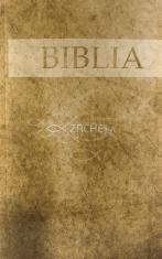 Evanjelická Biblia - veľká (hnedá, senior verzia)