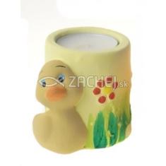 Svietnik: kačička - žltý (OS-04)