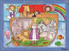 Puzzle: Noemova archa - 40 dielov