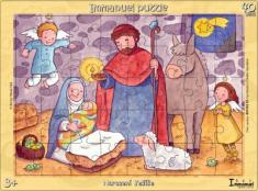 Puzzle: Narození Ježíše - 40 dielov
