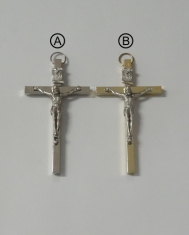 Kríž: kovový 8 cm