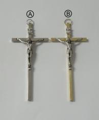 Kríž: kovový - 13 cm