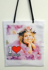 Taška látková: I ❤ MY ANGEL (1)