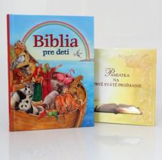 Sada - Biblia pre deti + Pamiatka na prvé sväté prijímanie