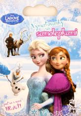 Ľadové kráľovstvo - Vymaľovanky so samolepkami - Poď sa s nami hrať!
