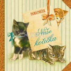 Naše kočička - Památníček