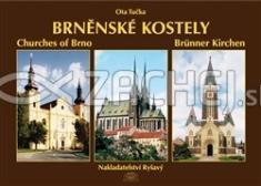 Brněnské kostely - 32 brněnských kostelů ve 230 fotografiích