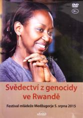 DVD - Svědectví z genocidy ve Rwandě - Festival mládeže Medžugorje 5. srpna 2015