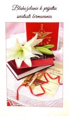 Pozdrav: k birmovke - s textom (15-126) - s obálkou