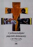 Cyrilometodějské papežské dokumenty z let 869 - 1985