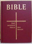 Česká synoptická Bible (katal. čís. 1202) 155x215 - Český ekumenický překlad / Bible kralická
