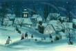 Přání - Zimní vesnička