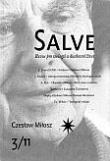 Salve - Revue pro teologii a duchovní život 3/11 - Czeslaw Milosz