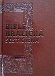 Bible kralická šestidílná (1212) - umělá kůže, orientační výřezy, 167x235 - Kompletní vydání s původními poznámkami