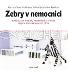 Zebry v nemocnici - Knížka ke čtení, vyrábění a hraní nejen pro nemocné děti