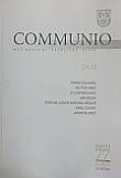 Communio 4/2015 - Chudí - Mezinárodní katolická revue 19. ročník - svazek 77