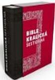 Bible kralická šestidílná (1213) - kůže, orientační výřezy, 167x235 - Kompletní vydání s původními poznámkami