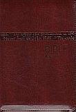 Bible (katal. čís. 1156) - zip, hnědá - Český ekumenický překlad včetně deuterokanonických knih