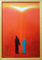 Obraz v ráme: Duch Svätý - prameň pravej lásky (30x20)