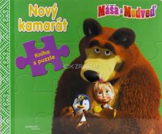 Máša a Medveď: Nový kamarát - Poskladaj si rozprávku