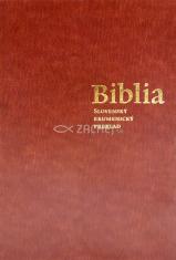 Biblia ekumenická s deuterokánonickými knihami (imitácia kože)