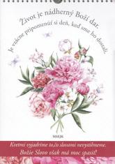 Život je nádherný Boží dar - Narodeninový zápisník
