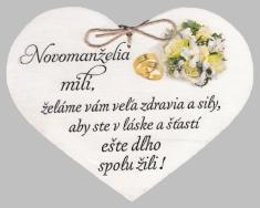 Drevené srdce: Novomanželia milí (2)