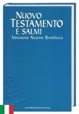 Nuovo Testamento E Salmi - Nová zmluva a žalmy, taliansky