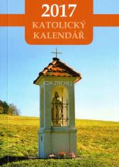 Kalendář 2017 (český) - katolický, kapesní - kaplička - Kapesní kalendář s církevním a občanským kalendáriem, liturgickými barvami a liturgickým čtením