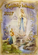 Katolícky kalendár 2017 nástenný (Zaex)