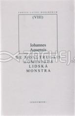 De Monstruosis Hominibus: Lidská monstra