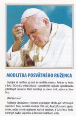 Skladačka: Modlitba posvätného ruženca