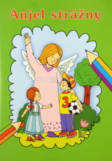 Omaľovanka - Anjel strážny