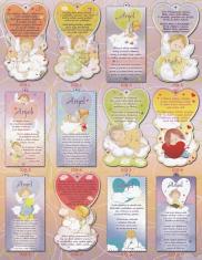 Obrázky na dreve: s modlitbami pre deti (20x12)