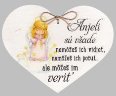 Drevené srdce: Anjeli sú všade...