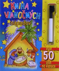 Kniha vianočných nápadov (s fixkou) - pre deti od 6 do 10 rokov
