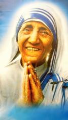 Obraz na plátne: Sv. Matka Tereza (124x70) - F8441