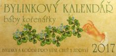 Bylinkový kalendář 2017 báby kořenářky + kniha Babiččiny bylinkové recepty - kniha + kalendář