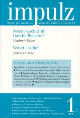 Impulz 1/2016 - Revue pre modernú katolícku kultúru