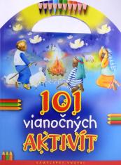 101 vianočných aktivít - Samolepky, úlohy, hlavolamy, omaľovánky