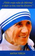 Obrázok: sv. Matka Tereza z Kalkaty (354/220) - s modlitbou, laminovaný